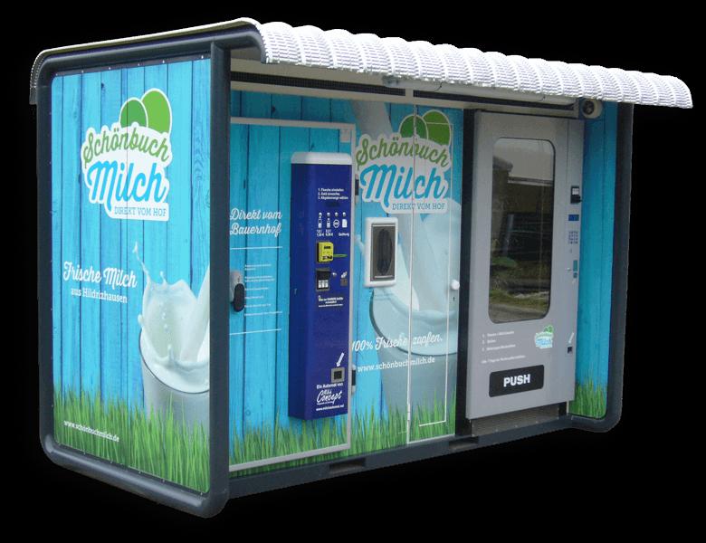 Schönbuchmilch Automat